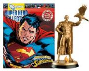 Eaglemoss DC Comics Super Hero Figurine Collection Superman Centennial Park Gold Special